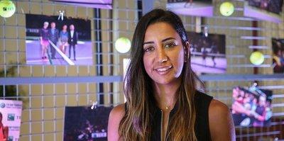 Çağla Büyükakçay'ın Sharapova heyecanı