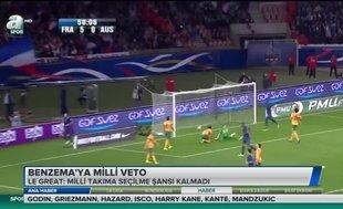 Benzema'ya milli veto!