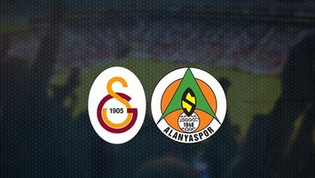 Galatasaray - Alanyaspor maçı saat kaçta ve hangi kanalda?
