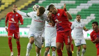 Bursaspor - Altınordu: 1-2 (MAÇ SONUCU - ÖZET)