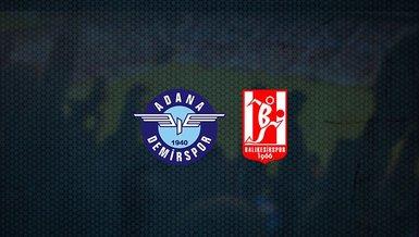 Adana Demirspor - Balıkesirspor maçı ne zaman, saat kaçta ve hangi kanalda canlı yayınlanacak? | TFF 1. Lig