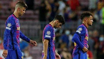 Barcelona enkaz oldu