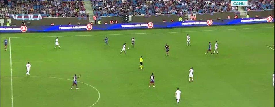 Joao Pereira Trabzonspor'u öne geçirdi!