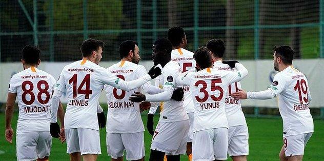 Galatasaray'ın gol düellosunda yok