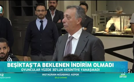 Beşiktaş'ta indirim görüşmeleri sürüyor!