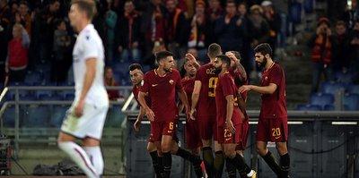 Roma tek attı üç aldı!