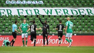 Werder Bremen 2-4 Borussia Mönchengladbach (MAÇ SONUCU-ÖZET) - Werder Bremen küme düştü!