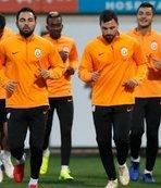 Galatasaray kafilesi, Almanya'ya gitti