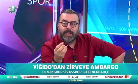 """""""Fenerbahçe'nin Ersun Yanal ile şampiyon olması çok zor"""""""