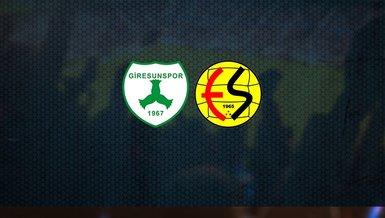 Giresunspor - Eskişehirspor maçı ne zaman, saat kaçta ve hangi kanalda canlı yayınlanacak?   TFF 1. Lig