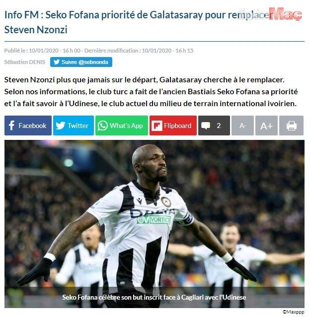 Galatasaray'da Nzonzi'nin yerine 1 numaralı aday o isim! Transfer...