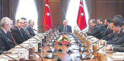 TBF'den Erdoğan'a ziyaret