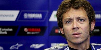 Valentino Rossi kaza geçirdi