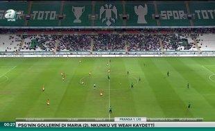 Galatasaray - Akhisarspor (ÖZET)