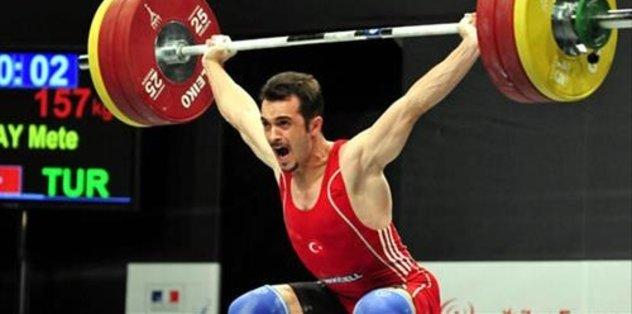 Milli halterci'nin doping testi pozitif çıktı