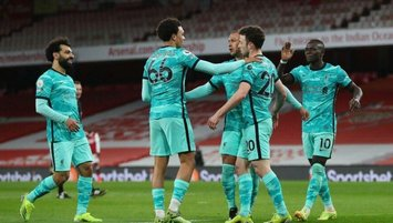 Liverpool Arsenal'ı 3 golle devirdi!