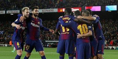 Barcelona, sahasında Leganes'i 3-1 mağlup etti.