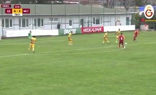 Erkan Süer ilk golünü attı! İZLE