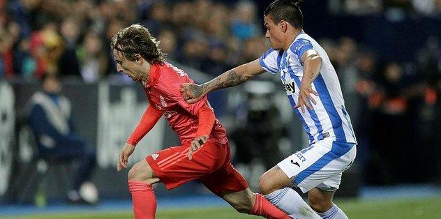 Real Madrid Leganes ile 1-1 berabere kaldı