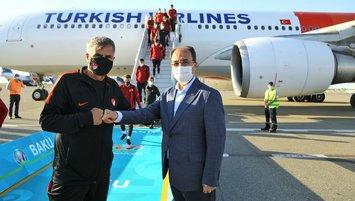 Millilerimiz Bakü'ye geldi!
