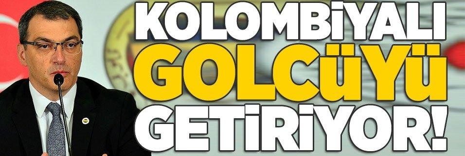 Kolombiyalı golcüyü getiriyor!