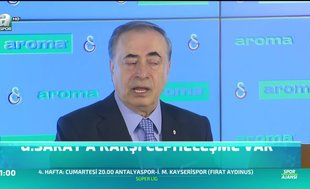 """Mustafa Cengiz: """"G.Saray'a karşı bir cepheleşme var"""""""