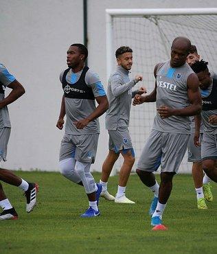 Trabzonspor'un Gatafe maçı kamp kadrosu belli oldu