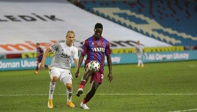Trabzonspor'da Ekuban pozitif