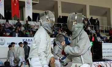 Eskrim Açık Turnuvası Karaman'da tamamlandı