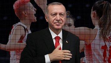 Başkan Erdoğan'dan Filenin Sultanları'na tebrik telefonu!