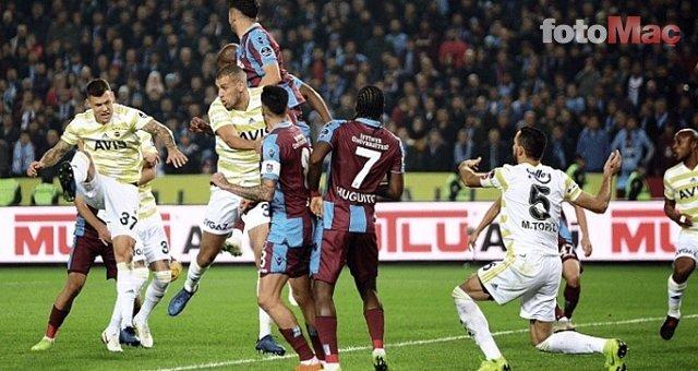 Nefesler tutuldu... Gözler Fenerbahçe-Trabzonspor derbisinde