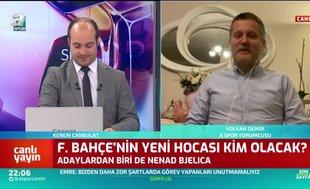 Fenerbahçe Nenad Bjelica ile anlaştı mı? Canlı yayında açıkladı