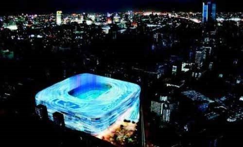 Real Madrid'in dev projesi