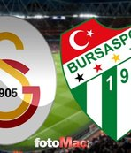 Galatasaray - Bursaspor | CANLI