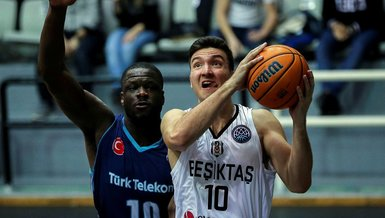 Beşiktaş Sompo Sigorta 66 - 84 Türk Telekom | MAÇ SONUCU