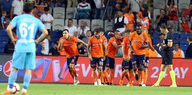 Tatile devam; kayıp Fırtına! Medipol Başakşehir 2-0 Trabzonspor maç sonucu