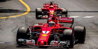 Ferrari'den Monaco'da çifte zafer