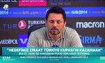 Erol Bulut: Hedefimiz Ziraat Türkiye Kupası!