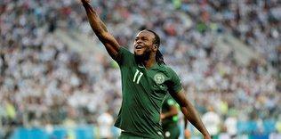 Nijeryalı futbolcu Moses, 27 yaşında milli takımı bıraktı