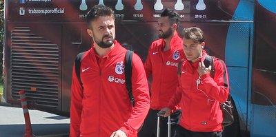 Trabzonspor Adana'ya gitti