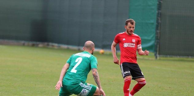Sivasspor Sepsi Sf. Gheorghe takımını 2-1 mağlup etti