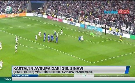 Beşiktaş'ın Avrupa'daki 216. sınavı