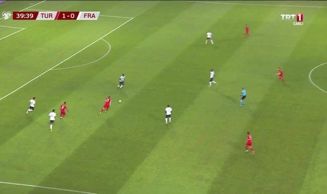 GOL | Türkiye 2-0 Fransa