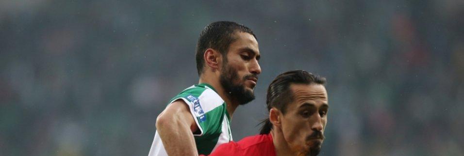Bursaspor - Antalyaspor maçından kareler!