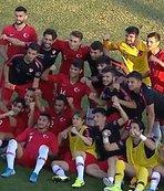 U19 Milli Takımımızdan şov! Lider olarak çıktık