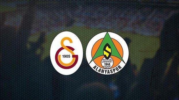 Galatasaray Alanyaspor maçı CANLI