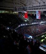 45 bin kişi geldi