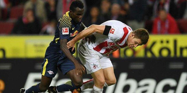 Leipzig, Köln'de yara sardı: 2-1