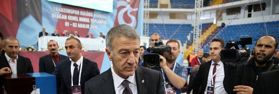 Trabzonspor Genel Kurulunda oy verme işlemi başladı