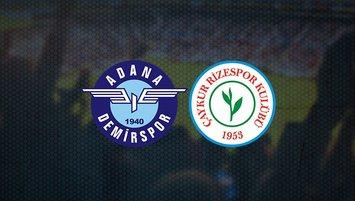 Demirspor-Rizespor maçı ne zaman?